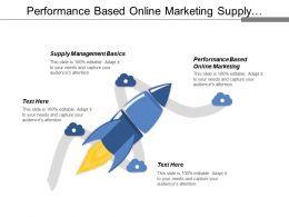 Performance Based Online Marketing Supply Management Basics Business Strategy Cpb