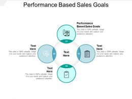 Performance Based Sales Goals Ppt Powerpoint Presentation Styles Slide Download Cpb