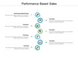 Performance Based Sales Ppt Powerpoint Presentation Layouts Show Cpb