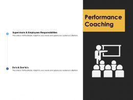 Performance Coaching Communication Planning Ppt Powerpoint Presentation Styles Slide