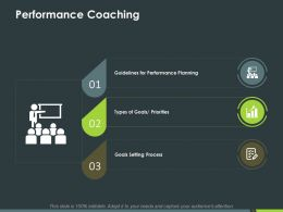 Performance Coaching Ppt Powerpoint Presentation Inspiration Slides