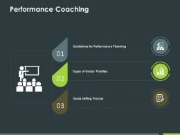 Performance Coaching Ppt Powerpoint Presentation Styles Good