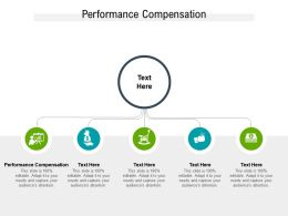 Performance Compensation Ppt Powerpoint Presentation Guidelines Cpb