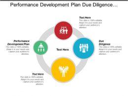 Performance Development Plan Due Diligence Market Research Technology