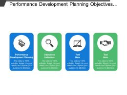 Performance Development Planning Objectives Indicators Reward Recognition Ongoing Discussion