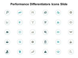 Performance Differentiators Management Ppt Powerpoint Presentation Gallery Clipart