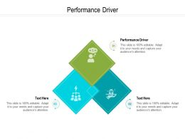 Performance Driver Ppt Powerpoint Presentation Professional Influencers Cpb