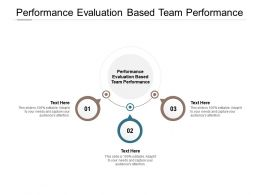 Performance Evaluation Based Team Performance Ppt Powerpoint Presentation Slides Topics Cpb