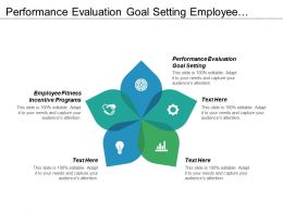 Performance Evaluation Goal Setting Employee Fitness Incentive Programs Cpb