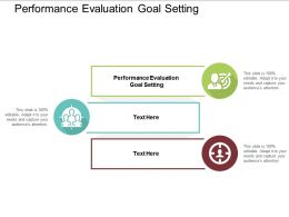 Performance Evaluation Goal Setting Ppt Powerpoint Presentation Professional Clipart Cpb