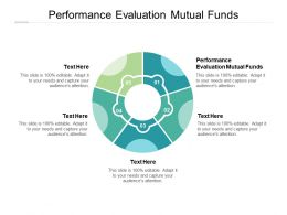 Performance Evaluation Mutual Funds Ppt Powerpoint Presentation Deck Cpb