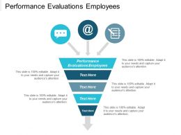 Performance Evaluations Employees Ppt Powerpoint Presentation Slides Portfolio Cpb
