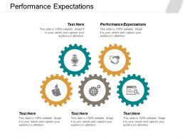 Performance Expectations Ppt Powerpoint Presentation Layouts Aids Cpb
