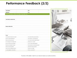 Performance Feedback Department Ppt Powerpoint Presentation Infographic Template Designs