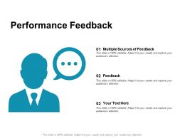 Performance Feedback Multiple Sources Ppt Powerpoint Presentation Guidelines