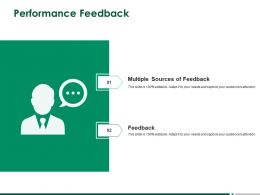 Performance Feedback Planning A257 Ppt Powerpoint Presentation Infographic Template Structure
