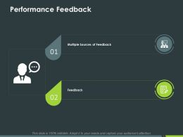 Performance Feedback Ppt Powerpoint Presentation Inspiration Styles