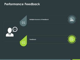 Performance Feedback Ppt Powerpoint Presentation Styles Graphics