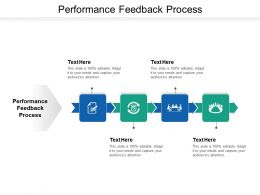 Performance Feedback Process Ppt Powerpoint Presentation Infographics Graphic Images Cpb