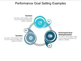 Performance Goal Setting Examples Ppt Powerpoint Presentation Gallery Graphics Download Cpb