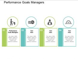Performance Goals Managers Ppt Powerpoint Presentation Summary Smartart Cpb