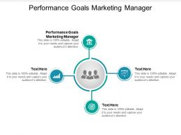 Performance Goals Marketing Manager Ppt Powerpoint Presentation Icon Deck Cpb