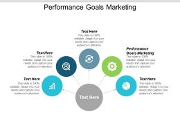 Performance Goals Marketing Ppt Powerpoint Presentation Infographic Template Outline Cpb