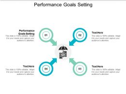 Performance Goals Setting Ppt Powerpoint Presentation Ideas Template Cpb