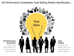 Performance Guarantees Goal Setting Market Identification Industry Trends