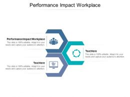 Performance Impact Workplace Ppt Powerpoint Presentation Infographic Template Influencers Cpb