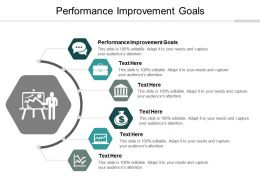 Performance Improvement Goals Ppt Powerpoint Presentation Show Layout Cpb