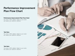 Performance Improvement Plan Flow Chart Ppt Powerpoint Presentation Icon Display Cpb