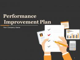 Performance Improvement Plan Measures To Be Used Resources Needed