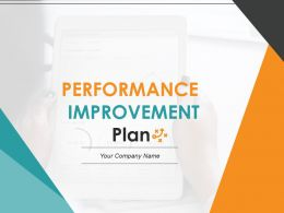 Performance Improvement Plan Powerpoint Presentation Slides