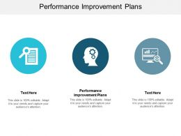 Performance Improvement Plans Ppt Powerpoint Presentation Styles Topics Cpb