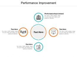 Performance Improvement Ppt Powerpoint Presentation Slides Templates Cpb