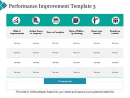 Performance Improvement Supervisor Initials Ppt Powerpoint Presentation Inspiration Templates