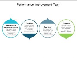 Performance Improvement Team Ppt Powerpoint Presentation Summary Graphics Download Cpb