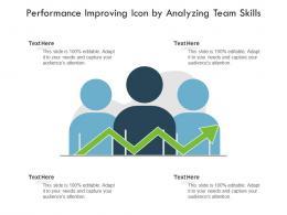 Performance Improving Icon By Analyzing Team Skills