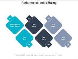 Performance Index Rating Ppt Powerpoint Presentation Gallery Portfolio Cpb