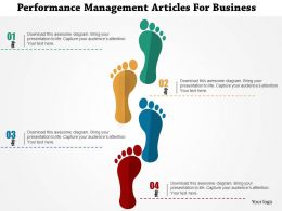 Performance Management Articles For Business Flat Powerpoint Design