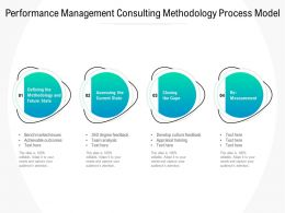 Performance Management Consulting Methodology Process Model