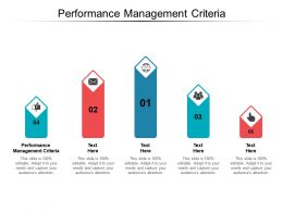 Performance Management Criteria Ppt Powerpoint Presentation Professional Cpb