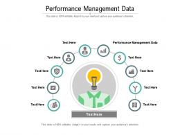 Performance Management Data Ppt Powerpoint Presentation Icon Graphics Cpb