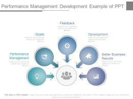 Performance Management Development Example Of Ppt