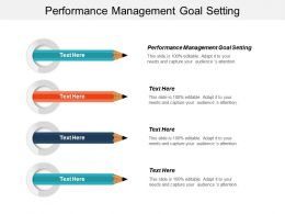 Performance Management Goal Setting Ppt Powerpoint Presentation Infographic Template Inspiration Cpb