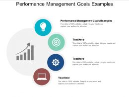 Performance Management Goals Examples Ppt Powerpoint Presentation Deck Cpb