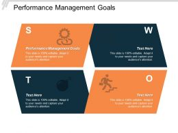 Performance Management Goals Ppt Powerpoint Presentation Model Show Cpb