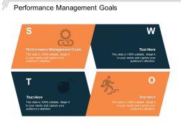 Performance Management Goals Ppt Powerpoint Presentation Model Show Cpb