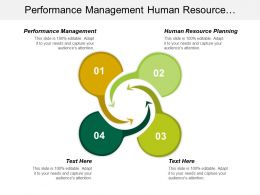 Performance Management Human Resource Planning Product Business Development Cpb